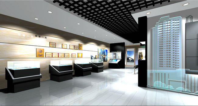 中南建筑设计院展厅设计装修